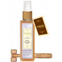 BodyHerbals Natural Lavender Vanilla Body Massage Oil