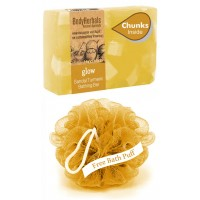 BodyHerbals Hydrating, Hand Made, Honey & Almond Bathing Bar With Natural Chunks