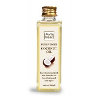Auravedic Pure Virgin Coconut Oil