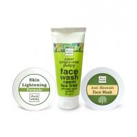 Auravedic Blemish Free Skincare Kit