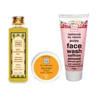 Auravedic Skin Lightening Combo Oil + Mask + Face Wash