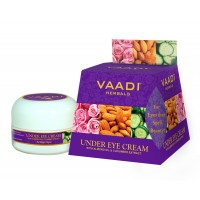 Vaadi Herbals Under Eye Cream - Almond Oil & Cucumber Extract