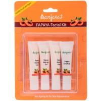 Banjara's Papaya Facial Kit (4 Tubes Inside)
