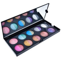 GlamGals 20 Color Baked Eyeshadow Palette