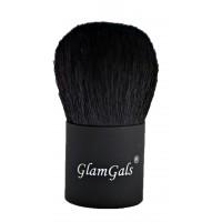 GlamGals Black Kabuki Brush