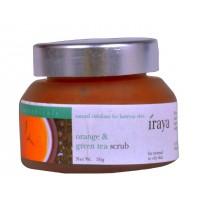 Iraya Orange & Green Tea Scrub