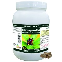 Herbal Hills Sarpagandha Capsule Value Pack
