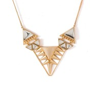 Studio Voylla Gold Toned Graceful Necklace