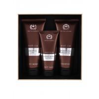 The Man Company Sturdy Trio Face Wash, Body Wash & Shampoo - Set Of 3
