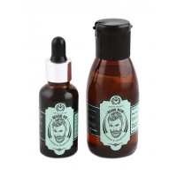 The Man Company Lavender & Cedarwood Beard Oil + Beard Wash Combo
