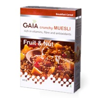Gaia Crunchy Muesli Fruit & Nut