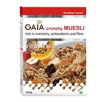 Gaia Crunchy Muesli Real Fruit