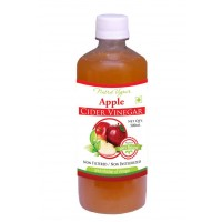 Nutravigour Apple Cider Vinegar - 500ml ( ACV ) Unfiltered, Unpasteurized With All The Natures Benefits - Mother Of Vinegar