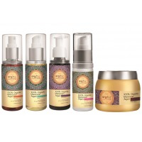 Arganic by Aryanveda 100% Organic Moroccon Hair Combo Pack