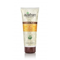 Azafran Organics Aqua Milk Skin Revitalizing Oil Trio Body Butter