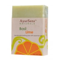 AyurSens Basil Lime Bathing Bar
