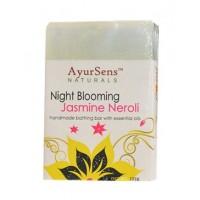 AyurSens Night Blooming Jasmine Neroli Bathing Bar