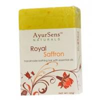 AyurSens Royal Saffron Bathing Bar