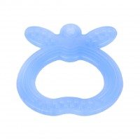 FARLIN Apple Shape Silicone Gum Soother (Blue)