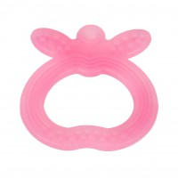 FARLIN Apple Shape Silicone Gum Soother (Pink)