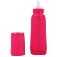 FARLIN Un-Breakable Insulated Feeding Bottle 250 CC (Pink)