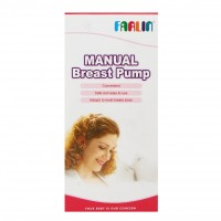 FARLIN Plastic Breast Pump (Pink)