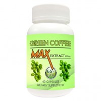Nutravigour Green Coffee Max 100% Pure & Natural Maximum Concentration Chlorogenic Acid (GCA) Extract 800mg 60 VEG Capsules For Weight Loss