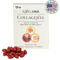 ExxelUSA Collagexxel Special Formula For Skin, Hair And Nail Support ( Collagen 500Mg )