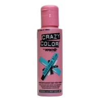 Crazy Color Semi Permanent Hair Color Cream - Bubblegum Blue No. 63