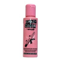 Crazy Color Semi Permanent Hair Color Cream - Candy Floss No. 65