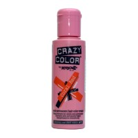 Crazy Color Semi Permanent Hair Color Cream - Coral Red No. 57