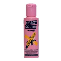 Crazy Color Semi Permanent Hair Color Cream - Canary Yellow No. 49