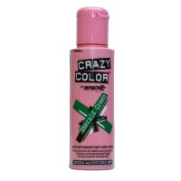 Crazy Color Semi Permanent Hair Color Cream - Emerald Green No. 53