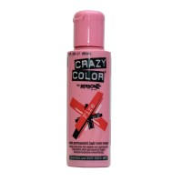 Crazy Color Semi Permanent Hair Color Cream - Fire No. 56