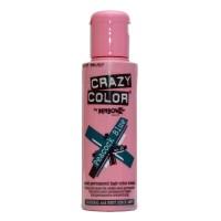 Crazy Color Semi Permanent Hair Color Cream - Peacock Blue No. 45