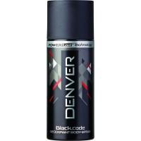Denver Black Code Deodorant for Men