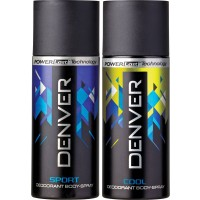 Denver Cool And Blue Sport Deodorant Combo (Pack Of 2)