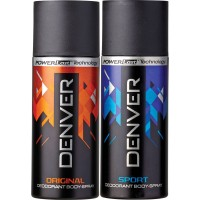 Denver Original And Sport Deodorant Combo (Pack Of 2)