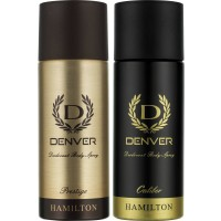 Denver Prestige And Caliber Deodorant Combo (Pack Of 2)