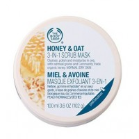 The Body Shop Honey & Oat 3-In-1 Scrub Mask