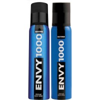 Envy 1000 Dark & Nitro Deodorant Combo (Pack Of 2)