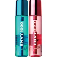 Envy 1000 Enigma & Magic Crystal Deodorant Combo (Pack of 2)