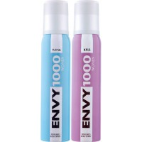 Envy 1000 Wink & Kiss Deodorant Combo (Pack of 2)