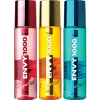 Envy 1000 Enigma, Divine & Magic Crystal Deodorant Combo (Pack of 3)