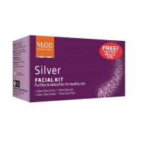 VLCC Silver Single Facial Kit With Bleach