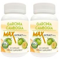Nutravigour Garcinia Cambogia Max 85% Hydroxycitric Acid (Hca) Veg 2x60 Capsules 800 Mg For Weight Loss - Pack Of 2