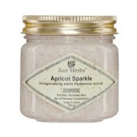 Just Herbs Apricot Sparkle Invigorating Skin Radiance Scrub