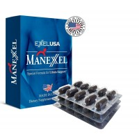 ExxelUSA Manexxel Omega 3 Dha, Epa 30 Softgel Capsules ( Dietary Supplement)