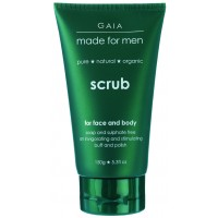 Gaia Skin Naturals Face & Body Scrub For Men