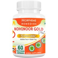 Morpheme Kohinoor Gold Plus 500mg Extracts - 60 Veg Caps.